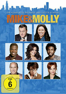 Mike & Molly - Season 6 - Warner 1000633477 - (DVD Video / TV-Serie)