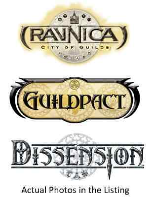 MTG Magic the Gathering Ravnica, Dissension, Guildpact Mix. C/U/R's