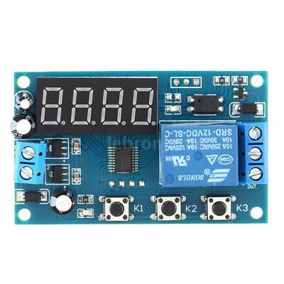 Multifunction Delay Time Module Switch Control Relay Cycle Timer DC 12V H1C3