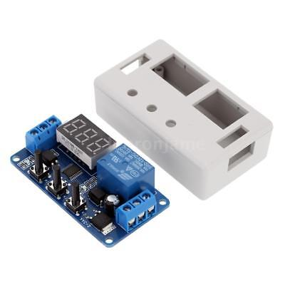 DC 12V LED Automation Delay Timer Control Switch Relay Module PCB with Case Z0A7