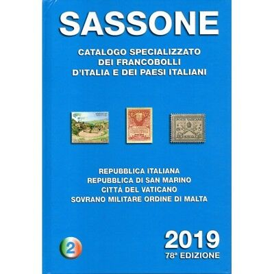 Sassone 2019 Catalogo Francobolli Volume 2 Nuovo Mf29714