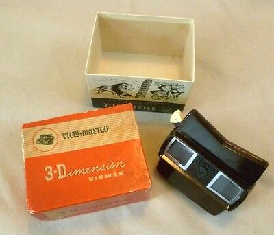 Vintage Viewmaster - Sawyers Boxed Model E Viewer - Belgium Circa 1950s/60s #4