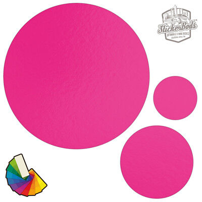 20 Circle Spot Dot Car & Wall Stickers / Decals | Choose from 30 Colours S1