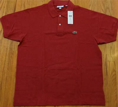 f25a772a MENS AUTHENTIC LACOSTE L.12.12 Classic Pique Polo Shirt Sirop Pink 7 ...