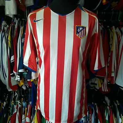 Atletico Madrid 2004 Home Football Shirt Nike Jersey Size Adult Xl