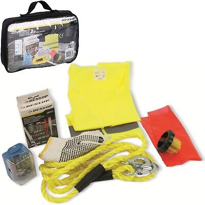 Dunlop Universal Car Emergency Set Breakdown Car Kit 40 Piece Auto Breaking Set