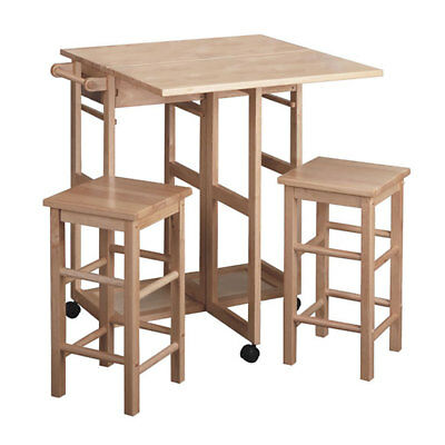 Winsome Wood Kitchen Space Saver Natural Composite Wood Suzanne Kitchen Set