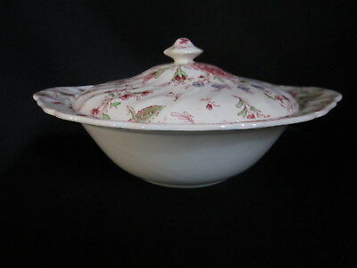 Johnson Brothers - ROSE CHINTZ - Covered Vegetable Bowl