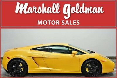 Lamborghini Gallardo  2005 Lamborghini Gallardo Giallo Halys with Nero E gear only 13400 miles