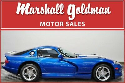 Dodge Viper  1996 Dodge Viper GTS  Viper GTS Blue over Black leather 32,100 original miles