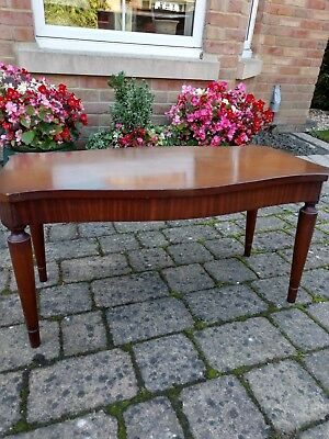 Antique Reproduction Coffee Table Solid Wood Excellent Condition