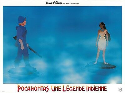 POCAHONTAS - French style movie poster print (B) - DISNEY - 12 x 16 inches