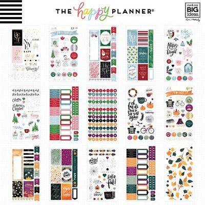Create 365® The Happy Planner™ Seasonal Sticker Value Pack 876 NEW