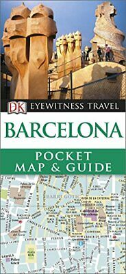 Barcelona Pocket Map and Guide (DK Eyewitness Travel Guide) by DK Travel Book
