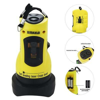UK Pro Self Levelling Auto Rotary Laser Level Dual Axis Hard Case Measuring Tool