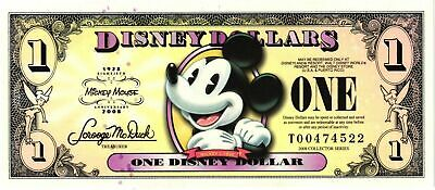 2008 $1 Mickey - A Series  NEW & UNCIRCULATED