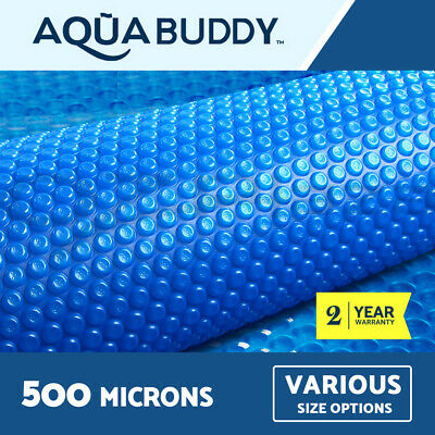 Aquabuddy Solar Swimming Pool Cover 500 Micron Outdoor Bubble Blanket