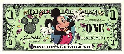 2000 $1 Mickey - A Series & D Series  NEW