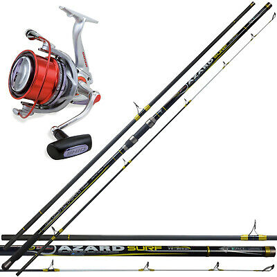 KP3414 Kit Pesca Surfcasting Canna Colmic Azard 420 250 G + Mulinello SK10 PPG