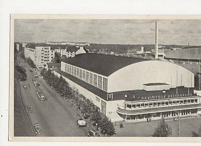 Helsinki Exhibition Hall Finland 1950 Vintage Postcard 193a