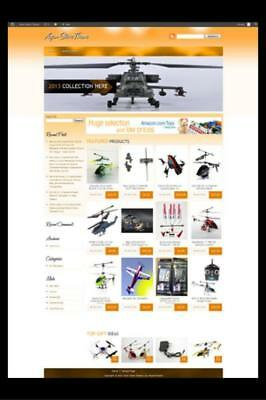 Pro Amazon Affiliate Store Website PLUS 1000+ Turnkey Websites w/ Resale Rights