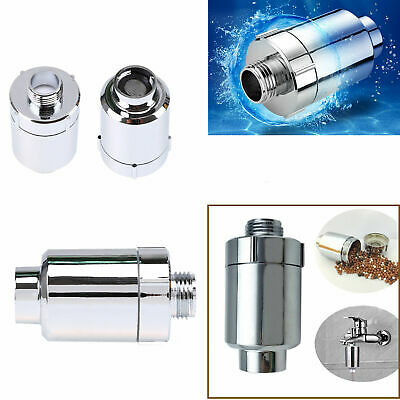 Shower Head Filter Water Softener for Hard Water Chlorine Purifier Universal
