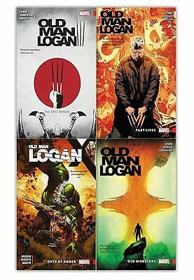 The Last Ronin Old Monsters Wolverine Old Man Logan Collection 4 Books Set NEW