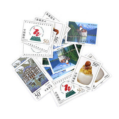 1PC Random Stamp Collection Old Value Lots China World Stamps
