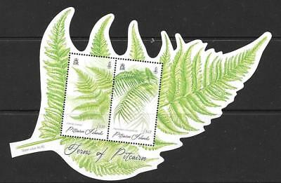 Pitcairn Islands 2016 Ferns M/s Mnh