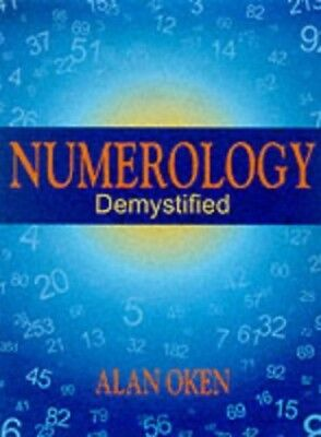 Numerology Demystified by Oken, Alan Paperback Book The Cheap Fast Free Post