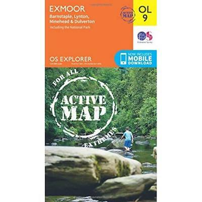 OS Explorer ACTIVE OL9 Exmoor (OS Explorer Map Active) Ordnance Survey