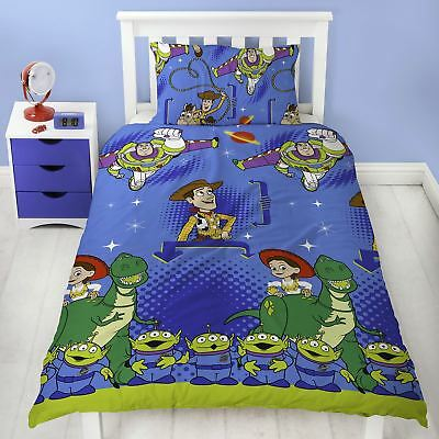 Disney Toy Story 'Friends' Single Duvet Cover Bedding Set