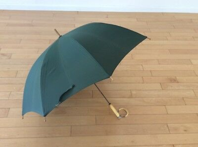 Antique Test Casein Galalith Celluloid Sterling Handle Umbrella Parasol Works