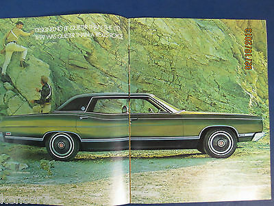 1969 Ford Full Line Sales Brochure D6620