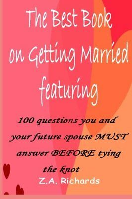 The Best Book On Getting Married by Richards, Z. A. Book The Fast Free Shipping