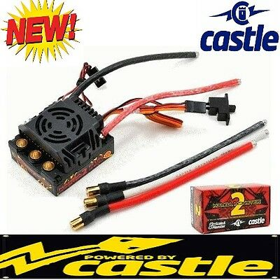 NEW Castle Creations 1/8 MM2 Mamba Monster 2 Waterproof WP ESC Speed Control