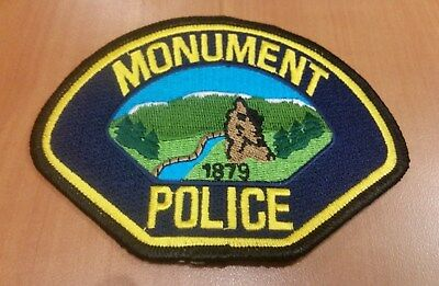 Monument Colorado Co Police Patch