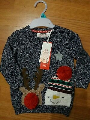 Baby Christmas Jumper Size 9-12 Months