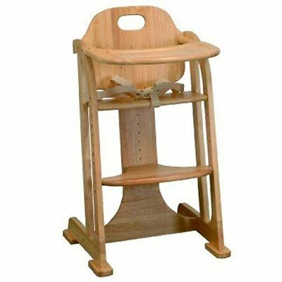 East Coast Multi-height Highchair natural All Wood