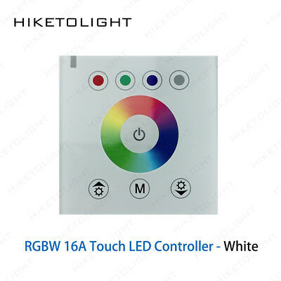 DC12V RGBW LED Touch Panel Remote Wall Switch Controller Dimmer 5050 Strip Light