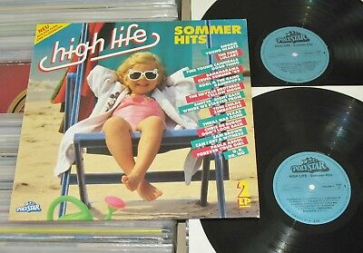 High Life - 2 LP (VG++) Sommer Hits 1989 - Smokie,C.C.Catch,The Cure,Toni Childs