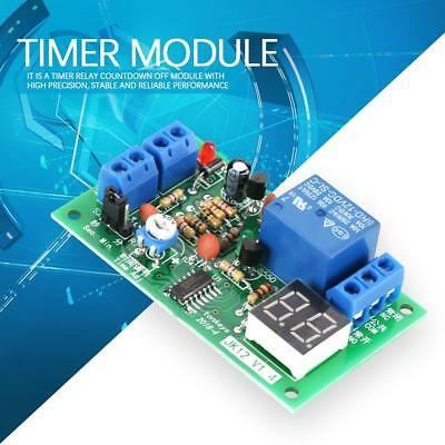 DC12V LED Display Countdown Timing Timer Delay Turn OFF Relay Switch Module