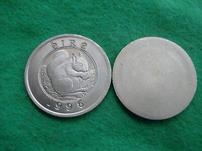 Ireland Eire Squirrel1996 Die Trial Uniface C/n Proof Pattern 25 Euro Freepost