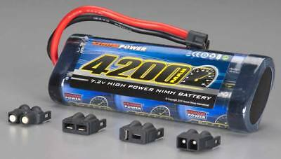 Venom 1546 NiMH 6-Cell 7.2V 4200mAh Stick Battery Pack: Traxxas Slash 4X4