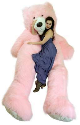 92bc58649cd American Made 9 Foot Giant Pink Teddy Bear Soft 108 Inches Oversized Big  Plush