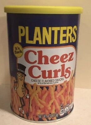 Planters Cheez Curls Cheese Snack 2018 Limited Release - Sealed & Ready to Ship