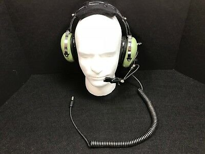 e9451e28fca David Clark Headset H10-76 Low Impedance Military Aviation Noise Cancelling  Mic
