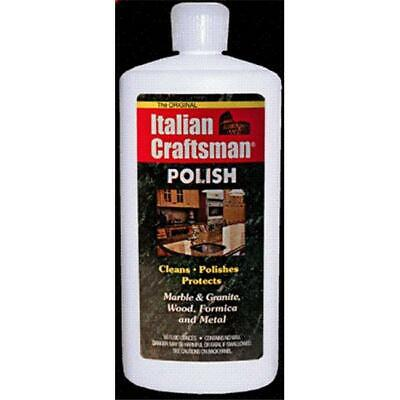 Italian Craftsman polish Marble and Granite Polish  16 oz Pack of 4