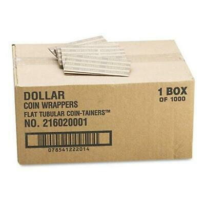 CTX30100 Flat Tubular Coin Wrappers Dollar Coin - Pop-Open Wrappers