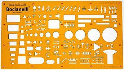 Electrical And Electronic Installation Symbols Drawing Template Stencil –